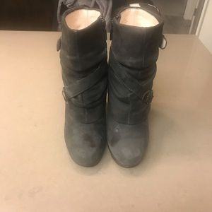 Suede Nine West Botique Boots